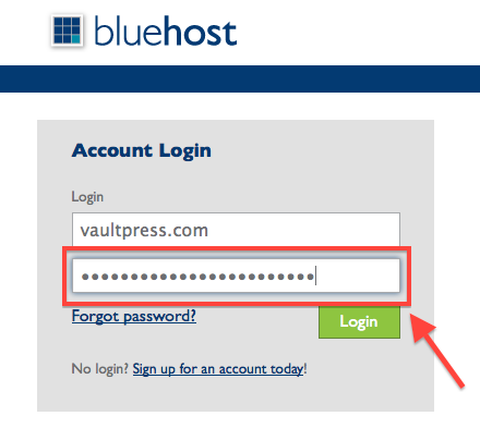 bluehost_ftp_password